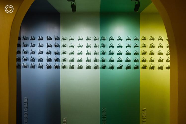 ญารินดา บุนนาค ทำโกดังเก่าเป็นมิวเซียมเซลฟี่สีดีขนาดกะทัดรัดที่เล่าประวัติสกูตเตอร์