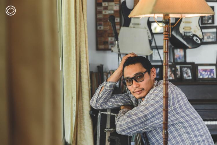 คุยกับ บอย อิมเมจิ้น ศิลปิน สถาปนิก และนักคิดหลังแก้วเบียร์ผู้เชื่อในสันติวิธี