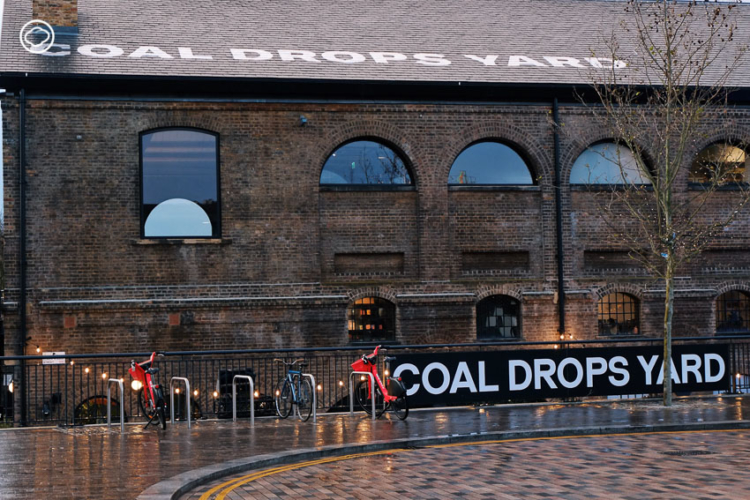 Coal Drops Yard โกดังเก็บถ่านหินเก่า