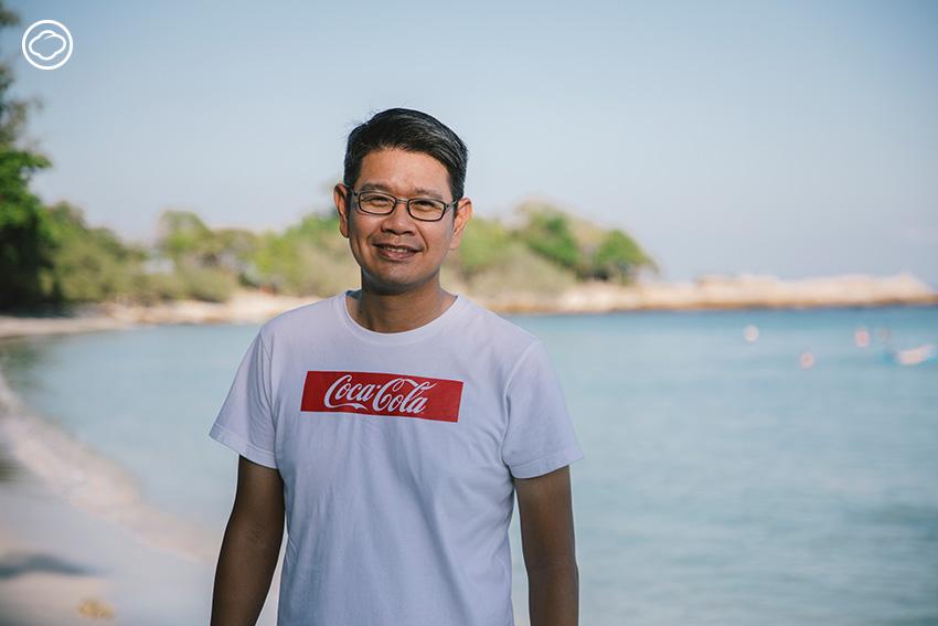 พี่เอ็ด-นันทิวัต ธรรมหทัย ผู้อำนวยการองค์กรสัมพันธ์ การสื่อสาร และความยั่งยืน บริษัท โคคา-โคล่า (ประเทศไทย) จำกัด