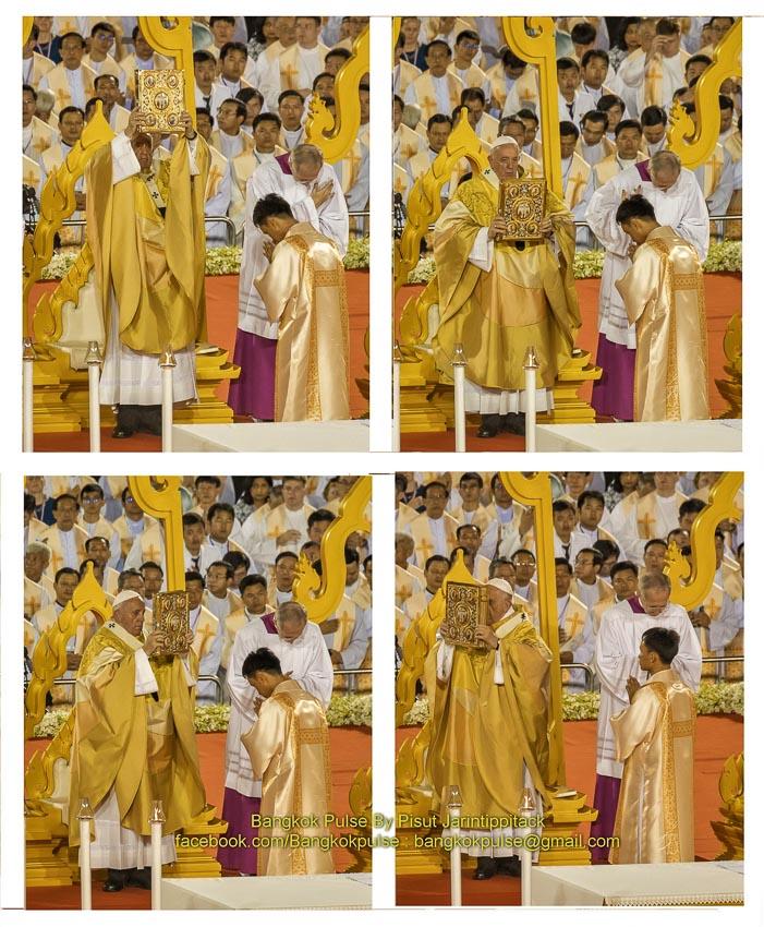 อีกครั้งในประวัติศาสตร์ไทยที่โป๊ปเสด็จเยือน โป๊ปฟรังซิส มอบสารแห่งสันติภาพใดแก่ชาวคริสต์ไทยบ้าง