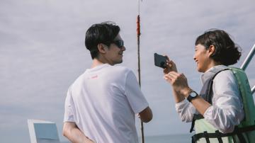 'มาหาเสม็ด' เที่ยวเกาะแบบรักษ์โลกกับท็อปและนุ่น
