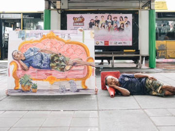 Daydream โปรเจกต์ตระเวนทำฝันกลางวันของคนทั่วกรุงเทพฯ ให้เป็นจริงบนผืนผ้าใบ