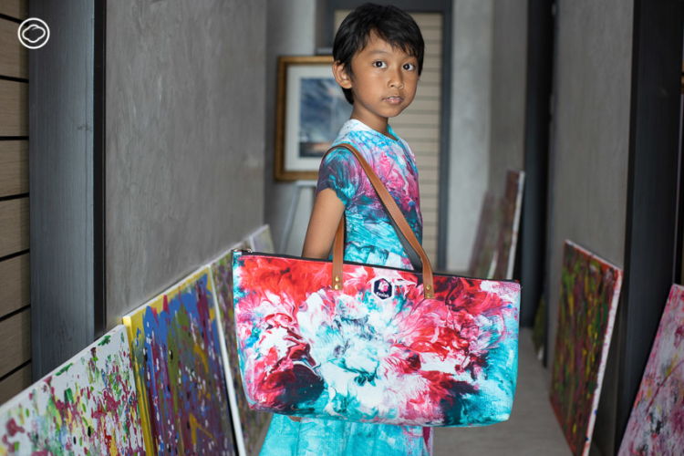 วินนี่ เคสิยาห์ ชุมพวง เด็กหญิงเจ็ดขวบที่มีแบรนด์เสื้อผ้าเป็นของตัวเอง keziah