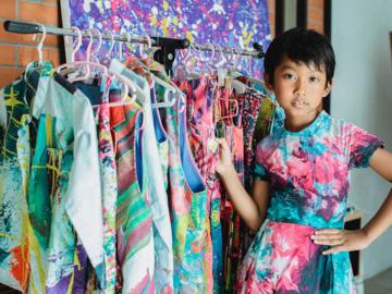 วินนี่ เคสิยาห์ ชุมพวง เด็กหญิงเจ็ดขวบที่มีแบรนด์เสื้อผ้าเป็นของตัวเอง