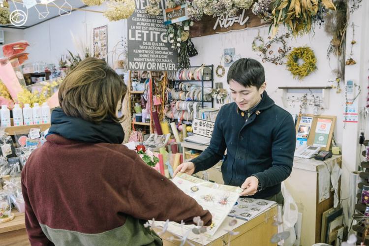 Flower Studio Parterre การต่อยอดธุรกิจของสะใภ้คนไทยที่ชอบขายดอกไม้กับหนุ่มญี่ปุ่นทายาทธุรกิจ ร้านดอกไม้ แห่งอิวาเตะ