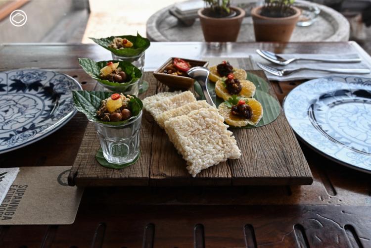 ชุดอาหารทานเล่น ห้องทานข้าวสุพรรณิการ์, ร้านอาหาร เกาะรัตนโกสินทร์