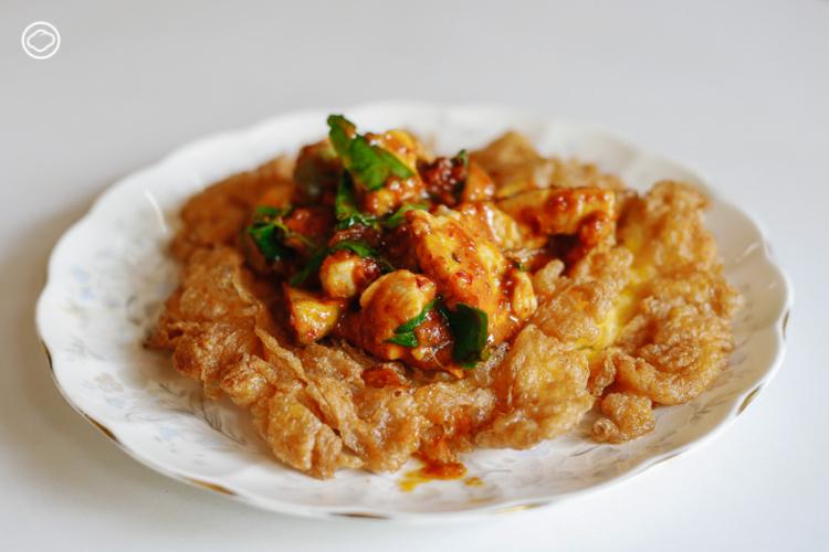 ไข่เจียวฟูแกงไก่แห้ง ครัวส้มหอม, เกาะรัตนโกสินทร์