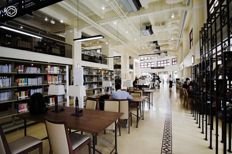 8 ห้องสมุดเฉพาะด้าน และแหล่งรวมหนังสือหายากกลางเมืองเก่า