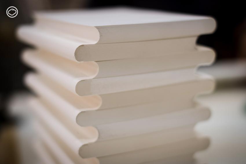Zequenz แบรนด์สมุดของคุณแม่ผู้รักกระดาษ กับวิธีการ 16 ขั้นตอน ทำมือ 100% เปิดได้ 360 องศา