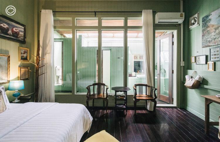 Angelo Family Suites รีโนเวตโรงงานกระเบื้องเป็นโรงแรมที่เหมือนนอนอยู่ใน Art Museum