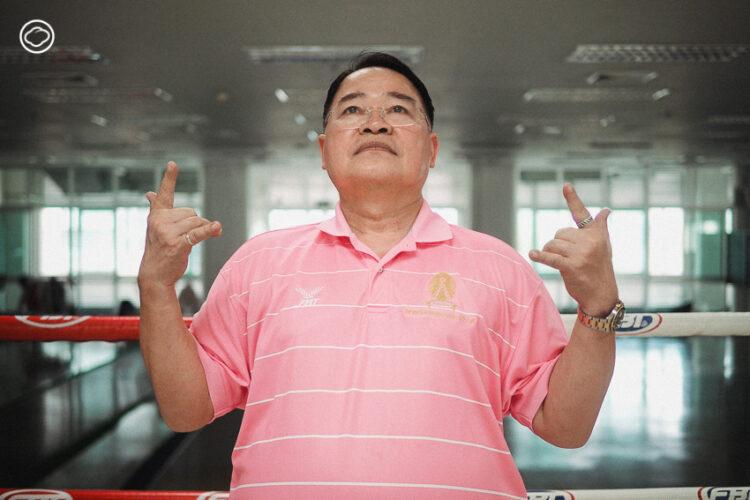 เส้นทางสู่ตำนานของ น้าติง-สุวัฒน์ กลิ่นเกษร เบอร์หนึ่งในวงการพากย์มวยปล้ำเมืองไทย