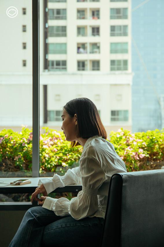อิ๊ก กัญจน์ภัสสร ผู้ก่อตั้งโครงการที่ให้วัยรุ่นไทยปรึกษาสุขภาพจิตฟรีผ่านวิดีโอคอล
