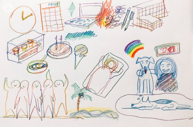Free Writing บำบัดความคิด คลายความกังวล และปลดความเครียด ด้วยกระดาษ ปากกา ดินสอสี