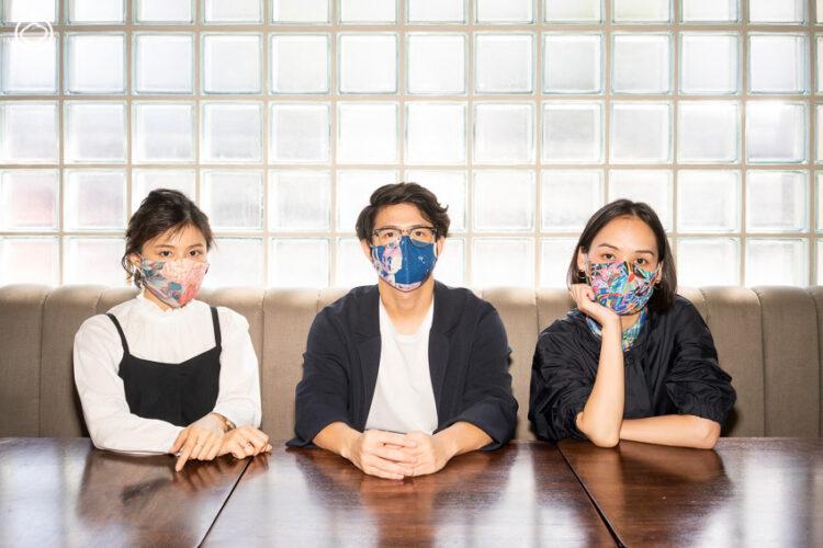 Ground Control กับโปรเจกต์สร้างสรรค์หน้ากากผ้าที่ช่วยกอบกู้ทั้งสังคมและวงการศิลปะ