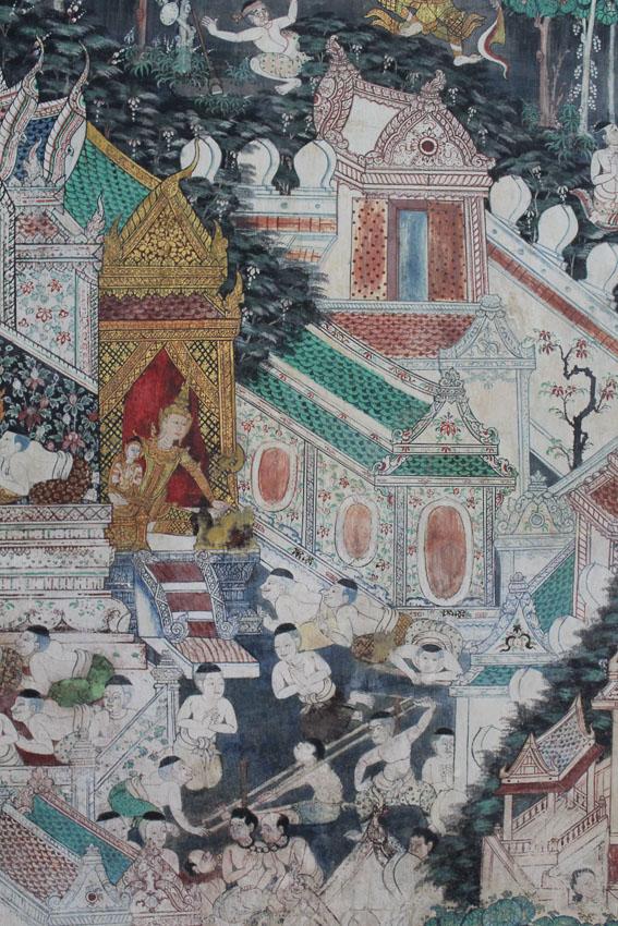 รวมฉากเด็ดใน 3 ชาติแรกของ ทศชาติชาดก จาก จิตรกรรมฝาผนัง วัดทั่วไทย