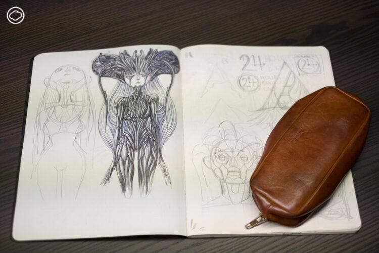 โอ ธีรวัฒน์ เฑียรฆประสิทธิ์ จากเด็กอนุบาลชอบวาดรูป สู่นักวาดภาพประกอบไทยที่ได้รางวัลการออกแบบจาก Hermès
