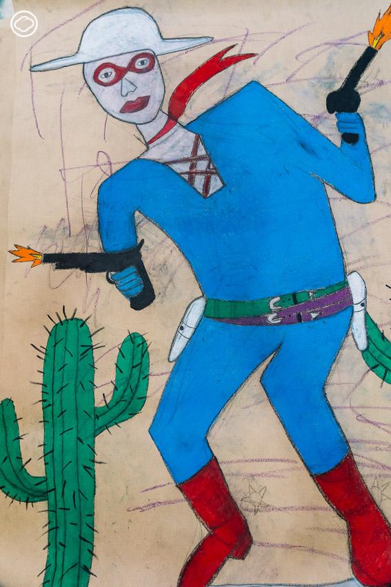 ท็อป จ่างตระกูล วัย 50 ที่ลาออกมาเป็นศิลปิน ใช้ประสบการณ์ชีวิตวาดภาพแบบเด็ก 13 ขวบ