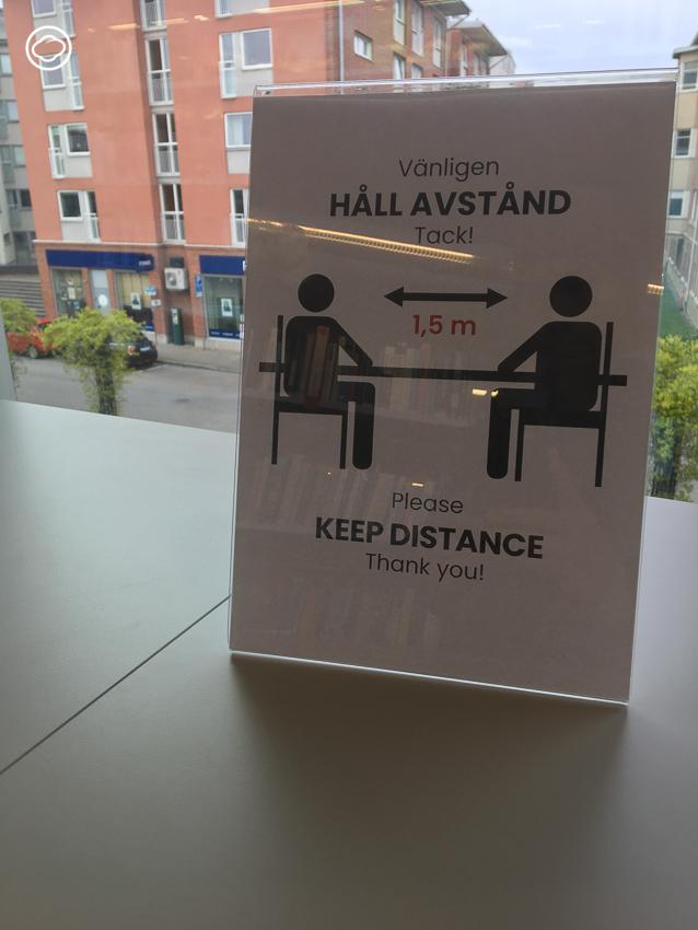 ทำไมสวีเดนยังเปิดบริการห้องสมุด แม้ไวรัสระบาด, ห้องสมุด สวีเดน, Covid-19