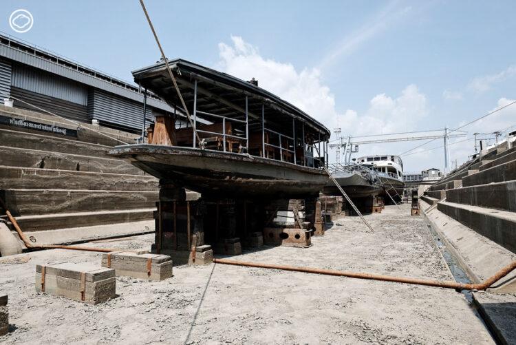 แกะรอยเครื่องจักรวินเทจใน 'อู่เรือหลวง' อู่กองทัพเรืออายุ 130 ปี, อู่เรือหลวงแห่งแรกของไทย, กรมอู่ทหารเรือ