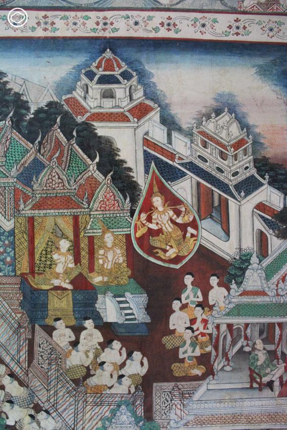 เกร็ดที่น่าสนใจของพระชาติที่ 7 8 9 ใน ทศชาติชาดก บนวัดทั่วไทย, จิตรกรรมฝาผนัง