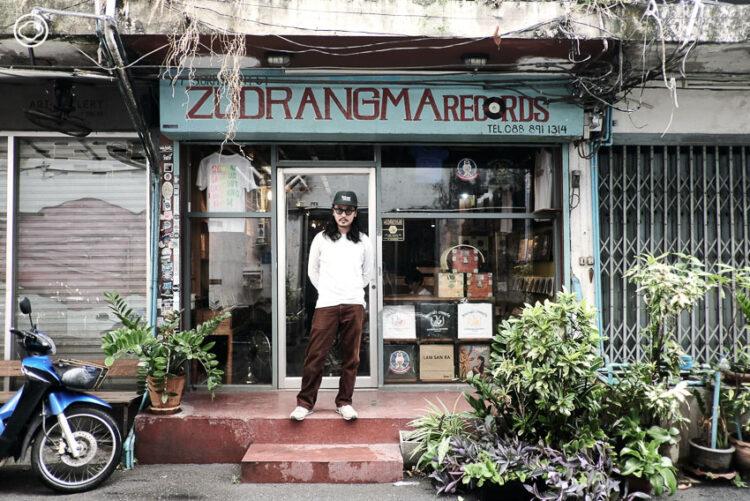 ดีเจมาฟท์ไซ เจ้าของคอลเลกชันแผ่นเสียงจากทั่วโลกผู้ศึกษาวัฒนธรรมในเพลงทุกท้องถิ่น, Zudrangma Records, ณัฐพล เสียงสุคนธ์