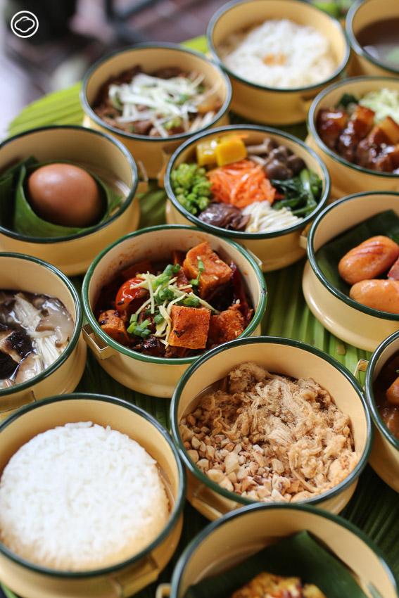 RISE Cafe ร้านอาหารมือใหม่หัดส่งที่ใช้เปลือกผลไม้ ห่อใบบัว และปิ่นโตใส่กับข้าวเพื่อลดขยะ