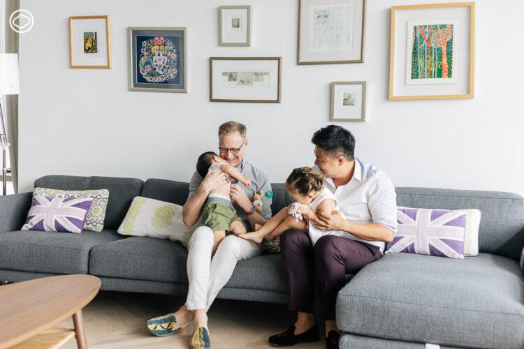ครอบครัว LGBTI ของเอกอัครราชทูตอังกฤษ ไบรอัน เดวิดสัน กับสก็อตต์ ชาง