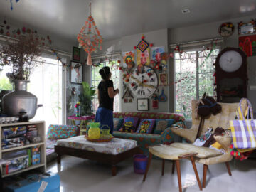 แพท-พัทริกา ลิปตพัลลภ, บ้านของนักเขียน นักเดินทาง พัทริกา ลิปตพัลลภ ที่สีสันในบ้านทั้งหมดมาจากอินเดีย
