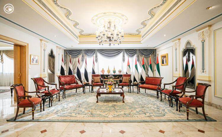 สถานทูตไทยกรุงอาบูดาบี ในวังที่ปรึกษาประธานาธิบดีสหรัฐอาหรับเอมิเรตส์