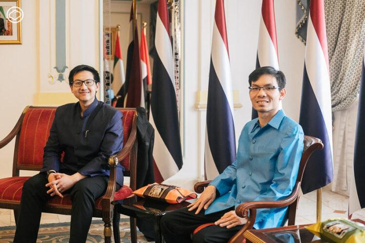 สถานทูตไทยกรุงอาบูดาบี ในวังที่ปรึกษาประธานาธิบดีสหรัฐอาหรับเอมิเรตส์, UAE
