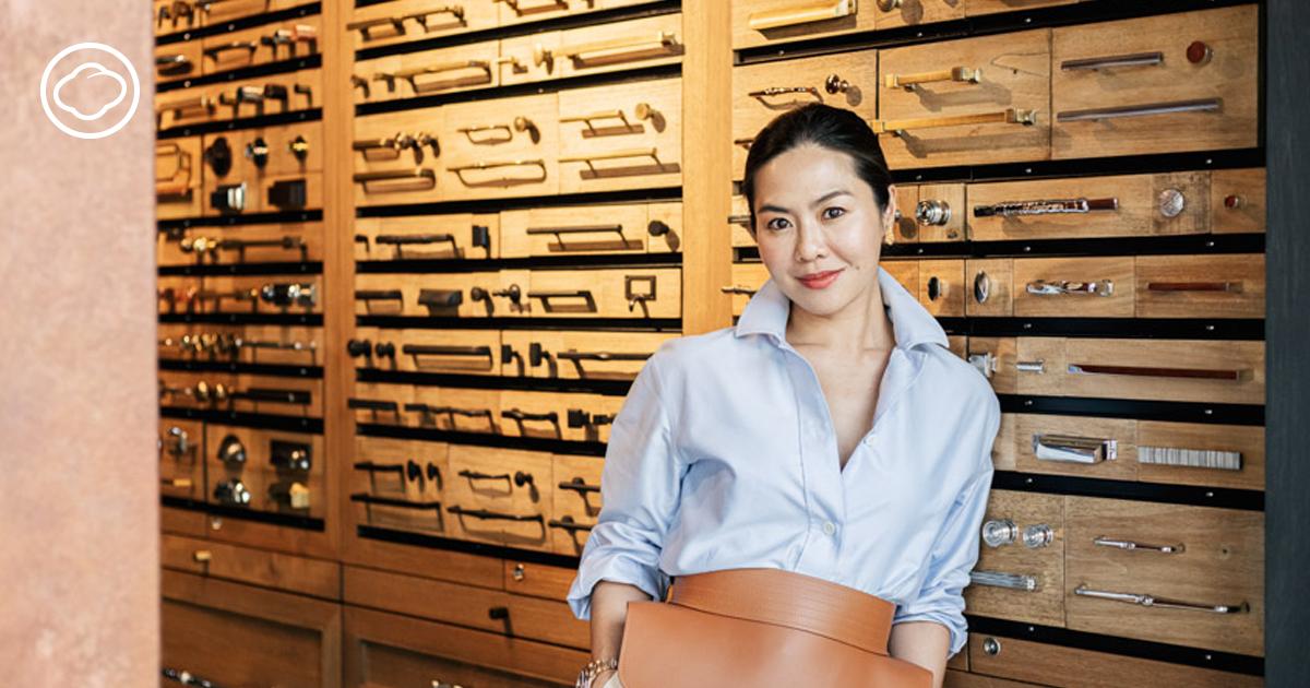 Knuckle Olive ร้านขายมือจับประตู กลอนและบานพับสัญชาติไทย ที่มีสาขาอยู่ลอนดอน, สิริน ภิญญาวัฒน์