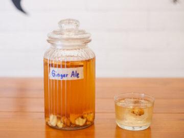 วิธีการทำ Ginger Ale เครื่องดื่มมีประโยชน์ อย่างง่ายให้ลองทำได้เองที่บ้าน