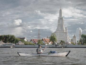 พายคายัค ล่องแม่น้ำเจ้าพระยา กิจกรรมชมวิวกรุงเทพฯ จากกลางน้ำ