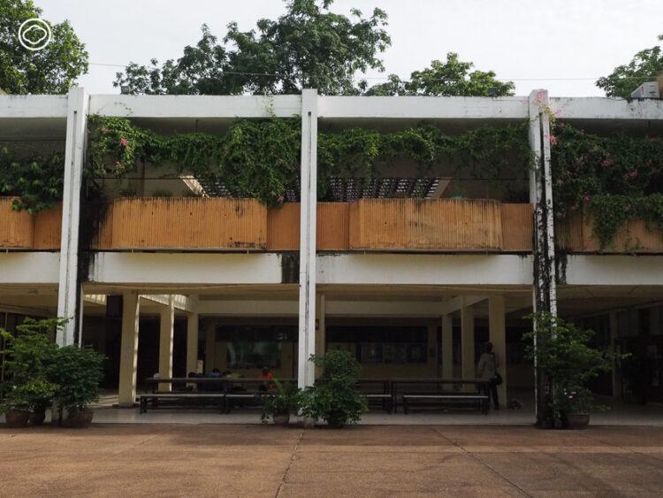 แกะรอยอาคารสไตล์โมเดิร์นยุคแรกของภาคอีสาน ในมหาวิทยาลัยขอนแก่น, ตึกเก่า มข., KKU, สถาปัตยกรรม