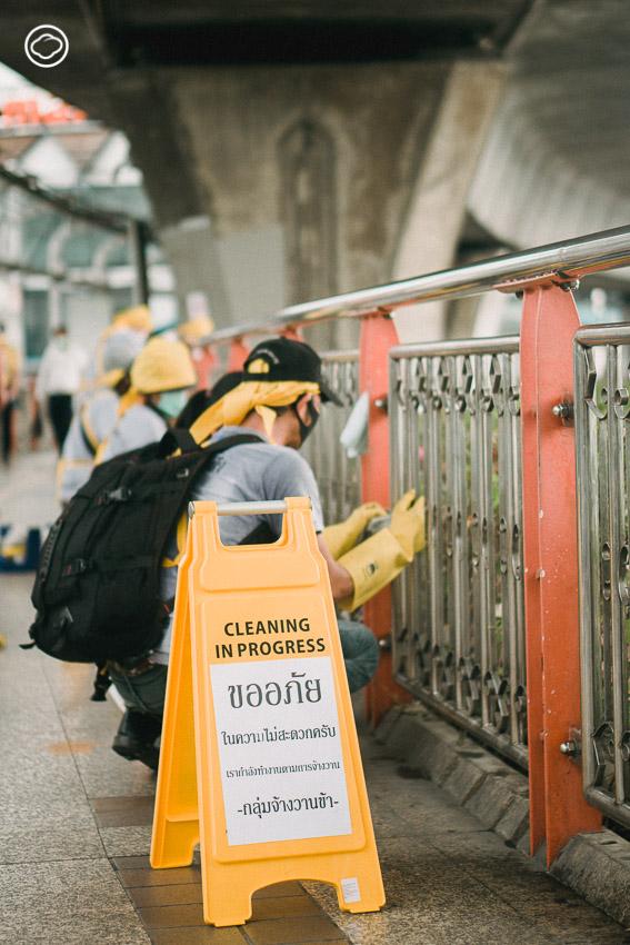 จ้างวานข้า แพลตฟอร์มสร้างอาชีพให้คนไร้บ้านที่รับทำความสะอาดพื้นที่ทุกรูปแบบ, มูลนิธิกระจกเงา