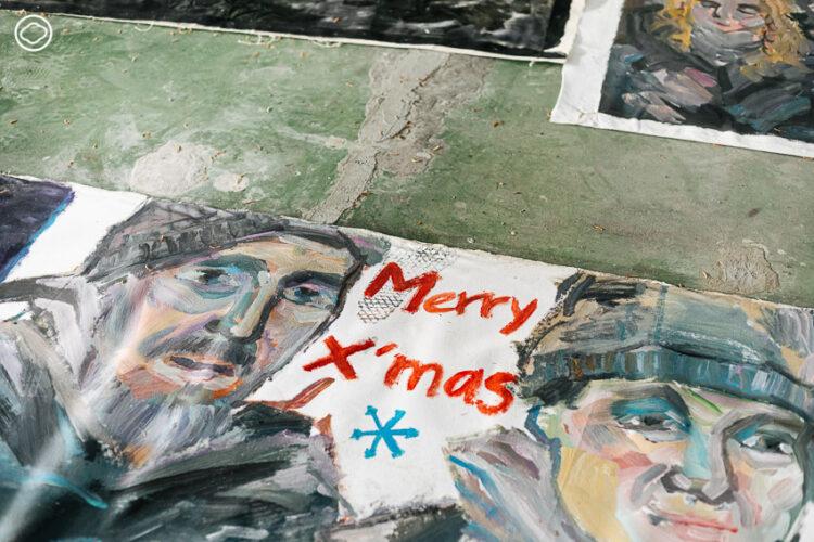 ป๊อก ไพโรจน์ พิเชฐเมธากุล ศิลปินที่ใช้งานศิลปะช่วยคน ผู้มีสตูดิโอเป็นท้องถนนและโลกใบนี้