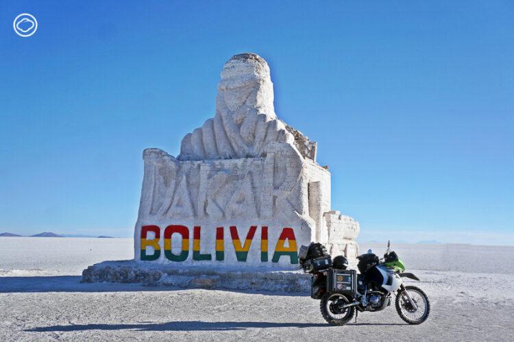 ตาม Google Maps ไปขี่มอ'ไซค์บนถนนสายรอง สัมผัสโบลิเวียแท้และทะเลเกลือใหญ่ที่สุดในโลก