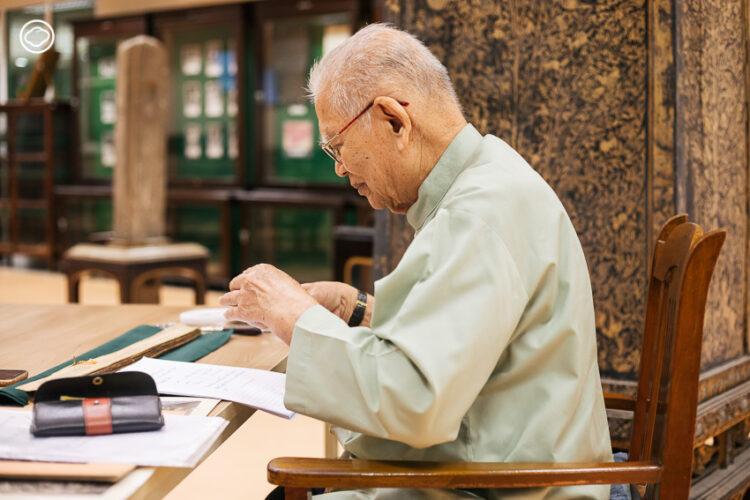 เทิม มีเต็ม นักเรียนประชาบาลวุฒิ ป.4 ที่กลายมาเป็นปรมาจารย์นักอ่านจารึกของไทย, นักอ่านภาษาโบราณ, วิธีอ่านหนักศิลาจารึก
