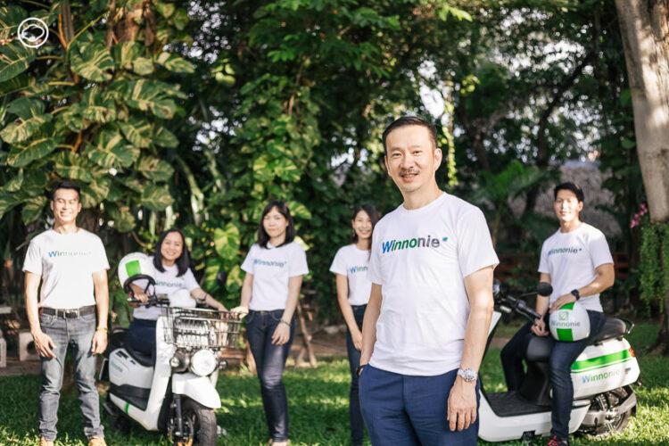 Winnonie แพลตฟอร์มวินมอเตอร์ไซค์ไฟฟ้าจากบางจาก ที่จะช่วยลดหนี้ให้พี่วิน, ชัยวัฒน์ โควาวิสารัช, CEO บางจาก