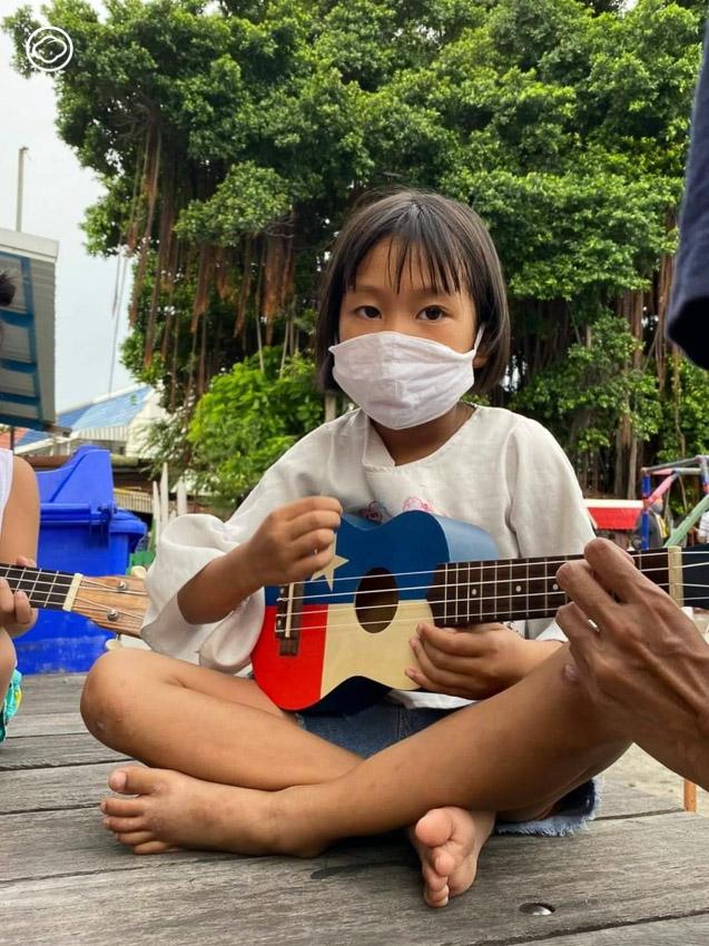 Music Sharing, ชุมชน, แออัด, คลองเตย