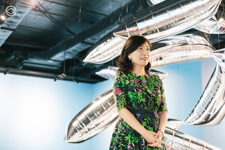 ฝันที่เป็นจริงของสาวไทเปผู้พลิกห้างร้างขายของเก่า River City Bangkok เป็นพื้นที่ศิลปะของชาวกรุง, คุณลินดา เชง (Linda Cheng) กรรมการผู้จัดการ