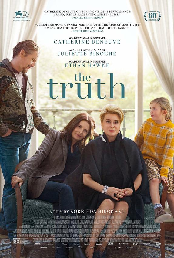 The Truth หนัง ตปท. เรื่องแรกของโคเรเอดะที่เล่าเรื่องครอบครัวฝรั่งเศสสุดแสบ