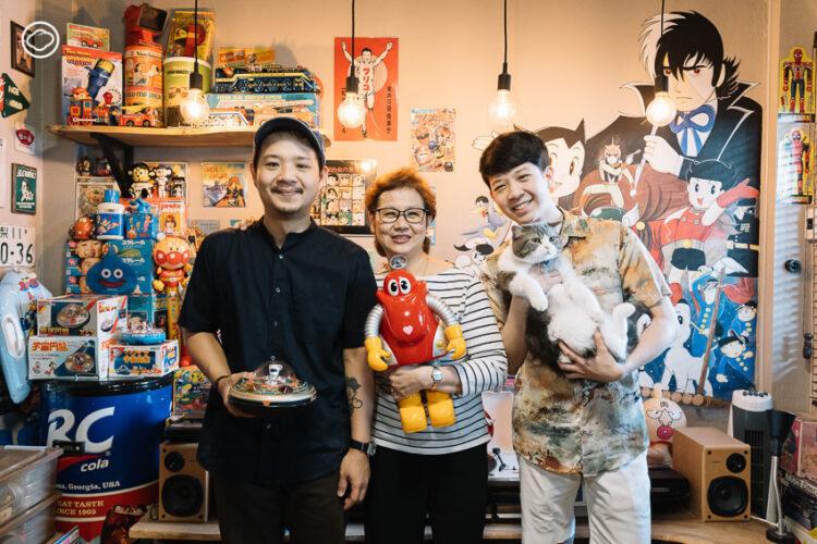 3 แม่ลูก นักสะสมของเล่นญี่ปุ่น หุ่นสังกะสี จนถึงตู้เกม สานฝันวัยเด็กของแม่ที่ห้างไดมารู
