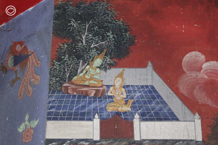 เกร็ดอะไรที่ซ่อนในภาพฝาผนัง 13 กัณฑ์ของ เวสสันดรชาดก ชาดกสำคัญที่สุดในชาดกทั้ง 10