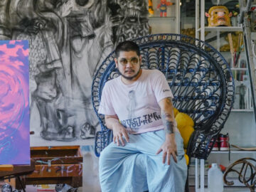 ฮ่องเต้ กันต์ธร เตโชฬาร ศิลปินที่ใช้ศิลปะตั้งคำถามกับตาลปัตร ตี่จู้เอี๊ยะ และความเชื่อมนุษย์, Art of Hongtae