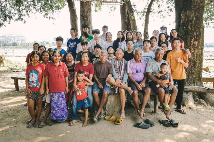 พานักเรียนกรุงเทพฯ ไปเรียนรู้วิถีตามฤดูกาลที่บ้านตามุย บ้านเกิดของครูชาวอุบลราชธานี, การเรียนรู้นอกห้องเรียน, อำเภอโขงเจียม จังหวัดอุบลราชธานี