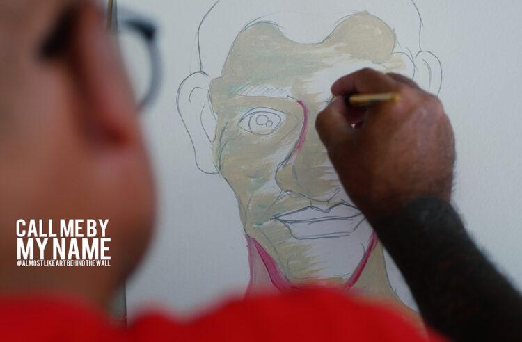 จาริณี เมธีกุล คนสอนวาดรูปที่วาดรูปไม่เหมือน กับนิทรรศการที่สื่อสารให้คนไม่หลงลืมตัวตนของคนหลังกำแพงเรือนจำ Call me by my name