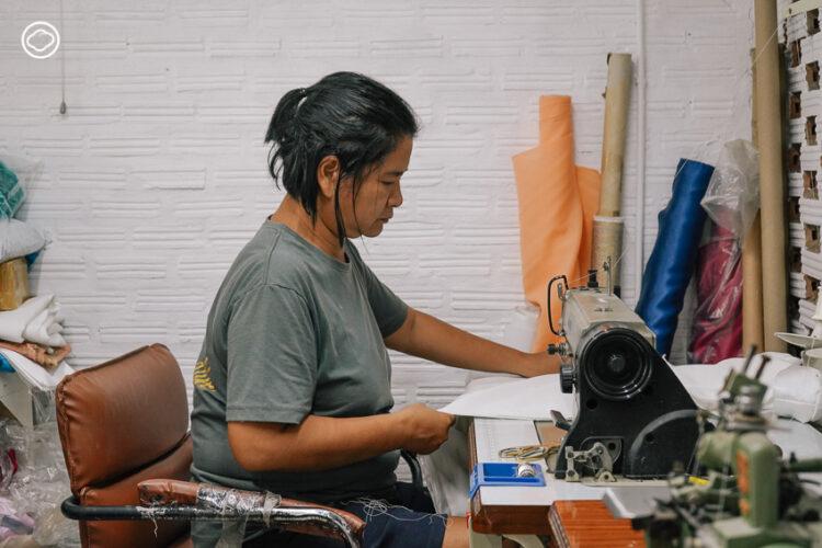 ห้องเสื้ออึ่งอ่างปาจิงโก๊ะ โอ๊บ โอ๊บ จากช่างที่เรียนตัดผ้า 3 วันสู่ผู้ชนะรางวัลชุดนางงาม