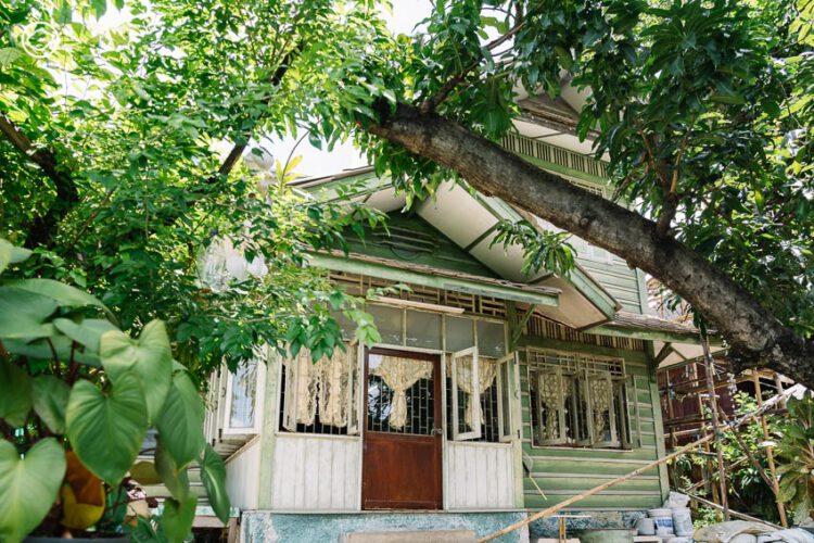 แกะรอยบ้านไม้เก่าในซอยเจริญกรุง 103 ชุมชนประวัติศาสตร์ที่อพยพมาจากปัตตานี, บ้านไม้โบราณ